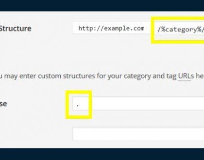 Akým spôsobom odstrániť 'category' z url ?