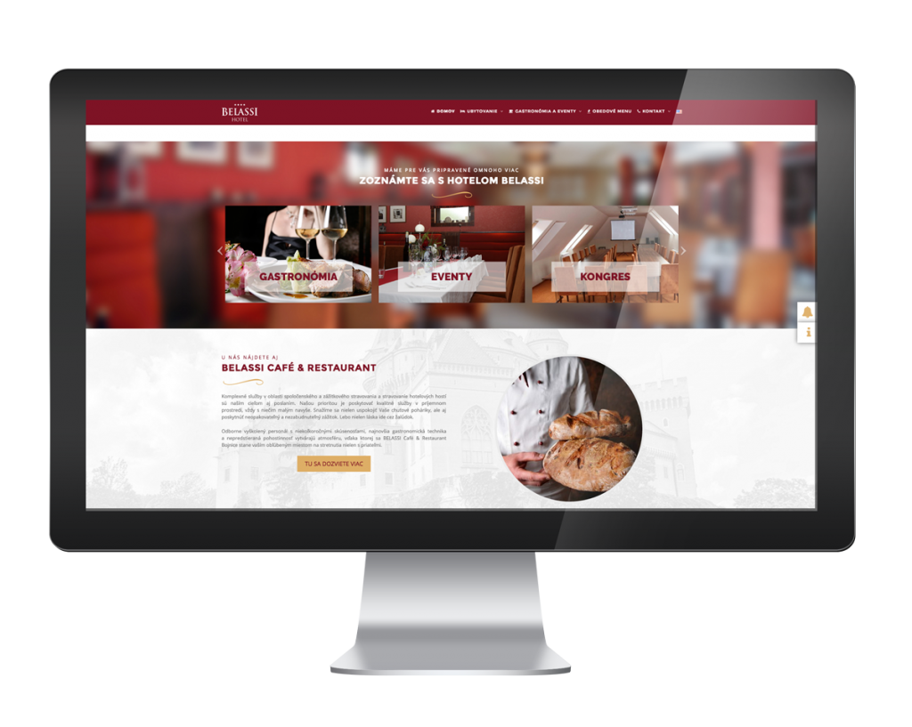 webdizajn hotel belassi