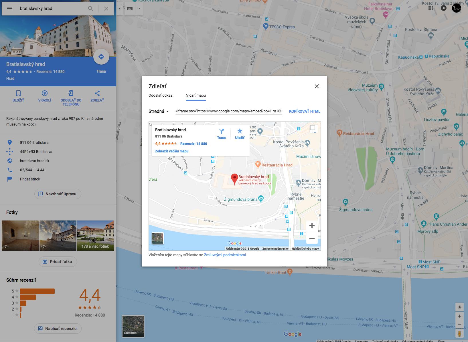 Zmizla vám z webu Google mapa, čo s tým?